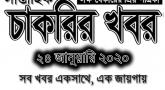 Weekly Govt Job Circular 24-01-2020   চলমান ৩৯ টি সরকারি চাকরির নিয়োগ বিজ্ঞপ্তির তালিকা